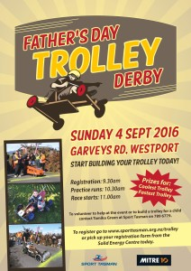 Sport Tasman Fathers Day Trolley Derby