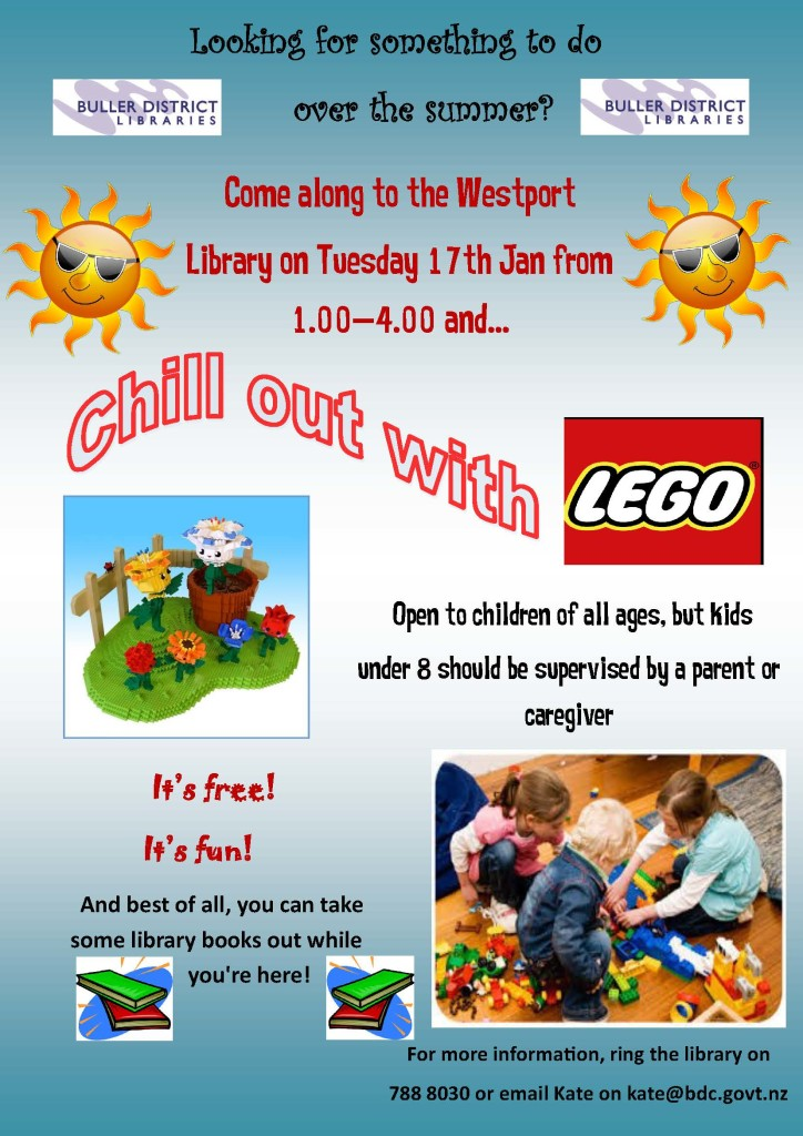 Chill Out With Lego