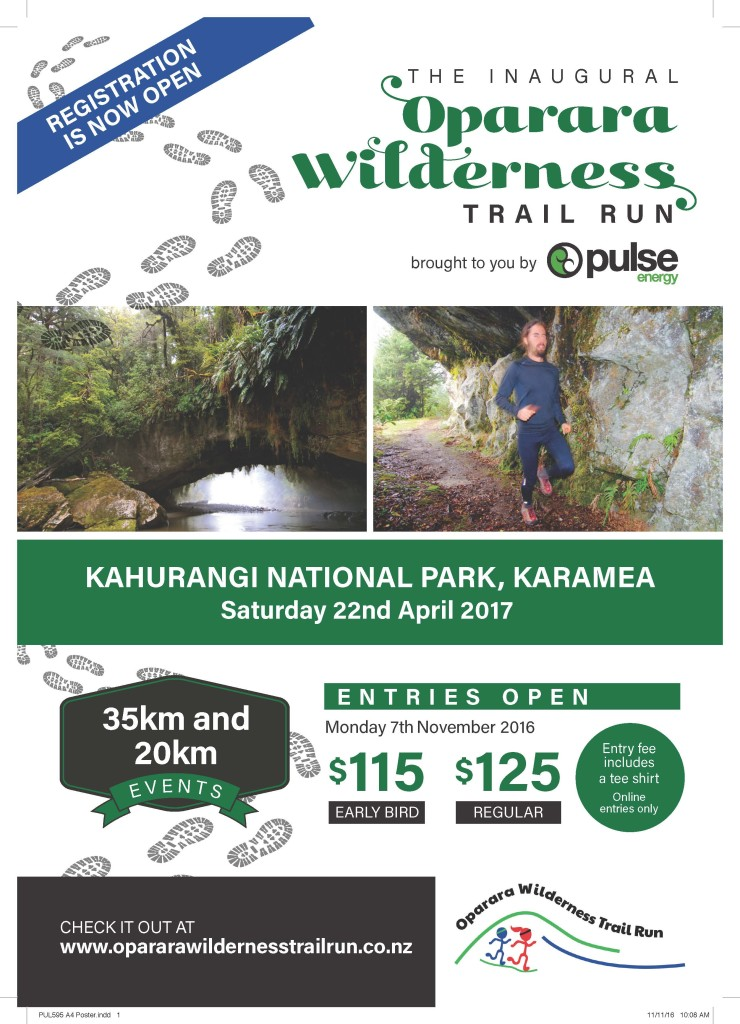 Oparara Wilderness Trail Run